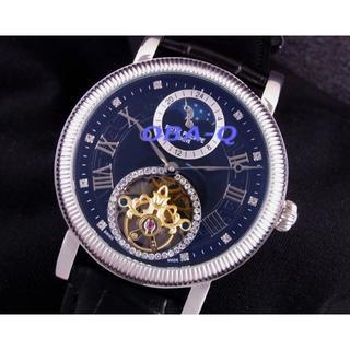 パテックフィリップ(PATEK PHILIPPE)のPAムーンフェイズブラック10Pダイヤルトゥールビヨンタイプ (腕時計(アナログ))