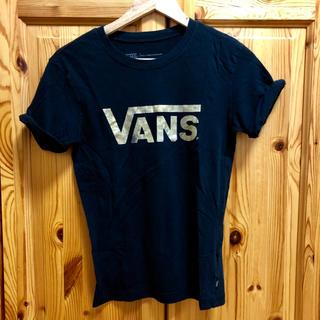 ヴァンズ(VANS)のVANS シャツ 黒(Tシャツ(半袖/袖なし))