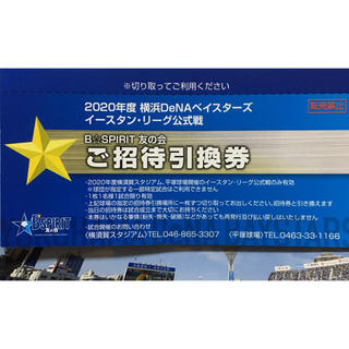 ヨコハマディーエヌエーベイスターズ(横浜DeNAベイスターズ)の横浜DeNAベイスターズ イースタン・リーグ公式戦チケット 2020(野球)