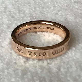 ティファニー(Tiffany & Co.)のTIFFANY&CO 1837 ナロー METAL リング(リング(指輪))