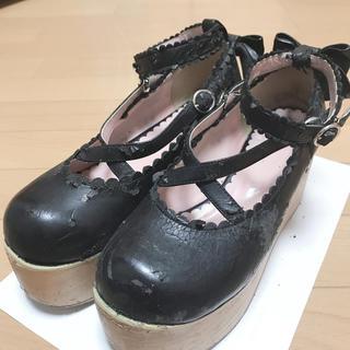ベイビーザスターズシャインブライト(BABY,THE STARS SHINE BRIGHT)のロリィタ 厚底(ローファー/革靴)