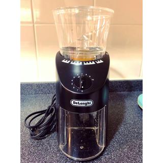 デロンギ(DeLonghi)のデロンギ コーン式コーヒーグラインダー(電動式コーヒーミル)