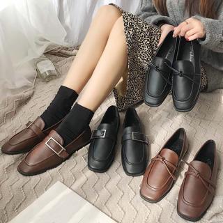 ♥ ローファー パンプス モカシン オックスフォード フラットシューズ(ローファー/革靴)
