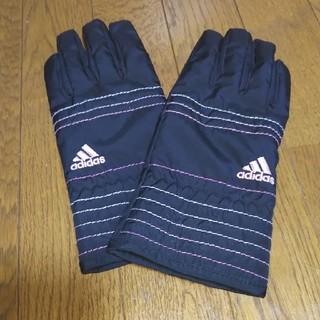 アディダス(adidas)のadidas ナイロン手袋(手袋)
