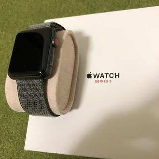 アップルウォッチ(Apple Watch)の【付属品多数】アップルウォッチ シリーズ3(腕時計(デジタル))