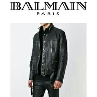 バルマン(BALMAIN)のBALMAIN ライダース46  (レザージャケット)