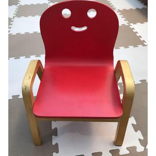 アカチャンホンポ(アカチャンホンポ)の木製 椅子 赤ちゃん用(その他)