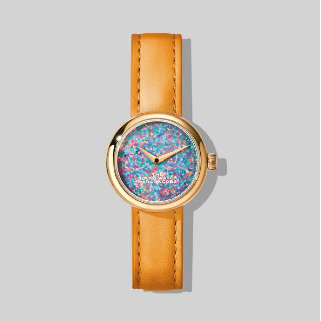 MARC JACOBS - MARC JACOBS The round watch 時計 オレンジの通販