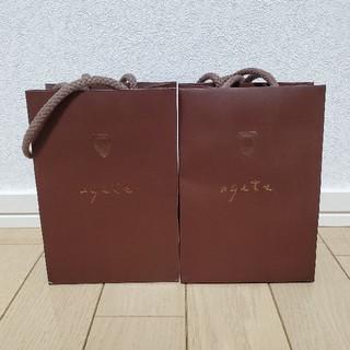 アガット(agete)のagete❇️ショップ袋(ショップ袋)