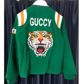 グッチ(Gucci)のtakuya∞ 着用 確実正規品 タイガージャケット タイガースタジャン (スタジャン)