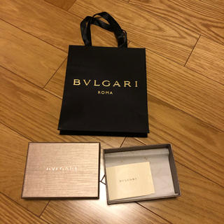 ブルガリ(BVLGARI)のBVLGARI 空箱 紙袋セット(キーケース)