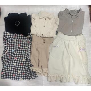 アンクルージュ(Ank Rouge)のアンクルージュ 新品 洋服まとめ売り ショートパンツ スカート ブラウス ニット(セット/コーデ)