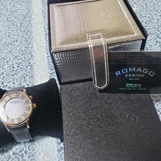 ロマゴデザイン(ROMAGO DESIGN)の【男女兼用】ROMAGO DESIGN SWISS ミラーウォッチ(腕時計(デジタル))