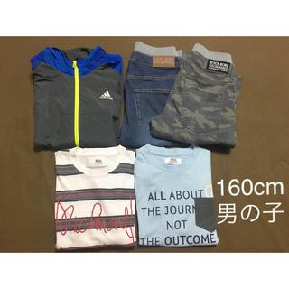 イッカ(ikka)の子供服 160cm 男の子 adidas ikka(Tシャツ/カットソー)