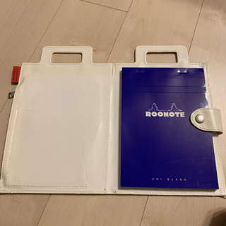 ROOTOTE ノベルティ メモ帳 バック型バインダーケース付き