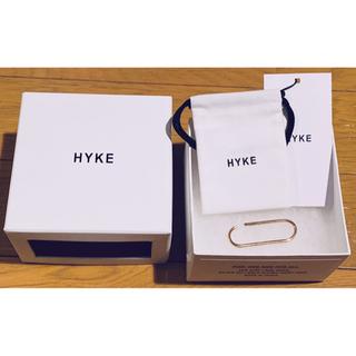 ハイク(HYKE)の【新品】HYKE ハイク EAR CUFF イヤーカフ BIG(片耳用)GOLD(イヤリング)