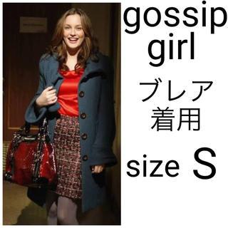 Nanette Lepore - 美品 gossip girl ゴシップガール ナネットレポー リボンボウコート