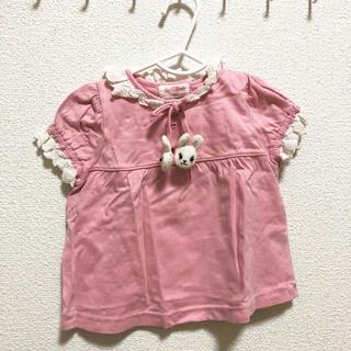 シャーリーテンプル(Shirley Temple)のシャーリーテンプル 立体うさぎリボン トップス(Tシャツ)
