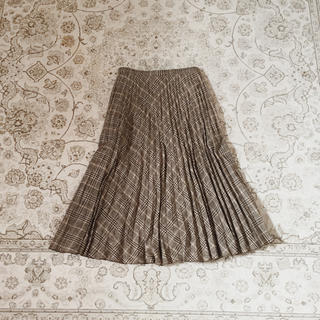 サンタモニカ(Santa Monica)のpleat skirt(ロングスカート)