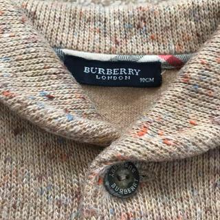 バーバリー(BURBERRY)のBurberry 90センチ コットンニット/お出かけ 女の子 男の子 入園式(ニット)