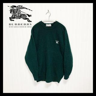 BURBERRY - 【美品】90s レトロ バーバリー Burberry's セーター ニット