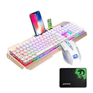 【希少★商品】ゲーミングキーボード マウス セット(PC周辺機器)