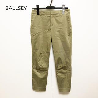 ボールジィ(Ballsey)の【BALLSEY】コットン レーヨン 9分丈 パンツ 美品(クロップドパンツ)