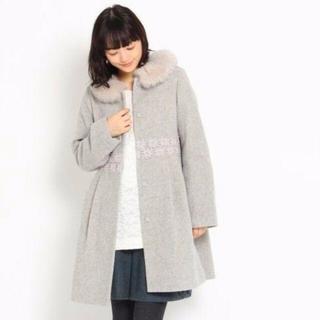 クチュールブローチ(Couture Brooch)のcouturebrooch コート ファー付き S(毛皮/ファーコート)