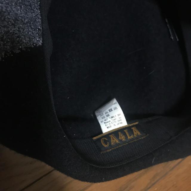 CA4LA(カシラ)の最終のお値下げしました!カシラハンチングベレー帽 レディースの帽子(ハンチング/ベレー帽)の商品写真