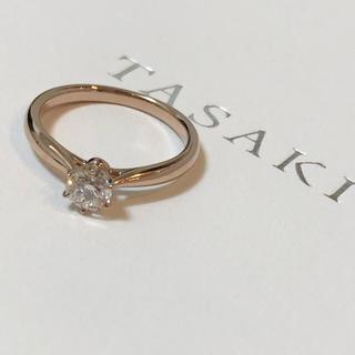 タサキ(TASAKI)のタサキ ダイヤリング 0.33 サクラゴールド(リング(指輪))