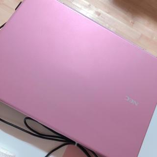 エヌイーシー(NEC)のNEC ノートパソコン ピンク 美品(ノートPC)