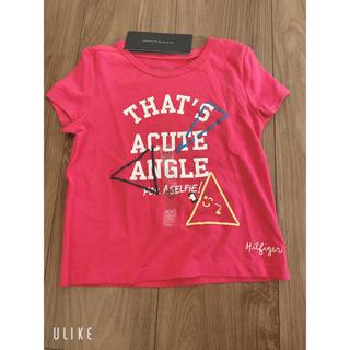 トミーヒルフィガー(TOMMY HILFIGER)のTシャツ トミーヒルフィガー キッズ 赤色(Tシャツ/カットソー)