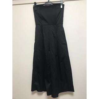 ラグナムーン(LagunaMoon)の【LAGUNAMOON】ウエストリボンベアガウチョドレス(その他ドレス)
