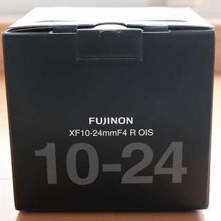 フジフイルム(富士フイルム)の新品 xf10-24mm f4 fujifilm 富士フイルム プロテクタ付き(レンズ(ズーム))