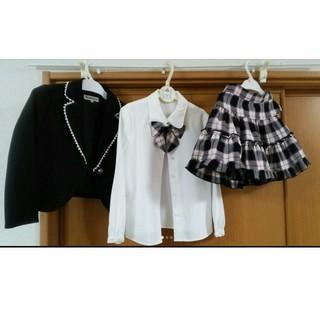 シマムラ(しまむら)のフォーマル キッズ《女児》3点セット(ドレス/フォーマル)