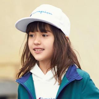 チャンピオン(Champion)の♡いいね不要!新作✩⃛Champion KIDS ベースボールロゴキャップ♡(帽子)