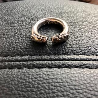 クロムハーツ(Chrome Hearts)のクロムハーツ ダブルドッグ リング(リング(指輪))