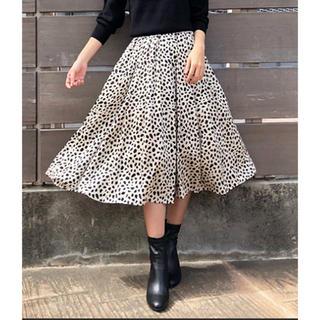 トランテアンソンドゥモード(31 Sons de mode)のレオパード柄ロングスカート(ロングスカート)