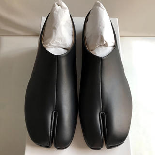 マルタンマルジェラ(Maison Martin Margiela)の新品 メゾンマルジェラ タビ 足袋 ローファー スリッポン 40 25〜26(スリッポン/モカシン)
