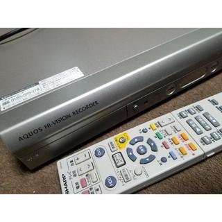 アクオス(AQUOS)のSHARP HDD レコーダー(DVDレコーダー)