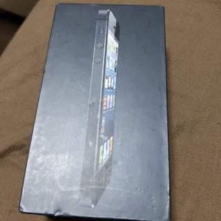 アイフォーン(iPhone)のiPhone5 16GB Black(その他)