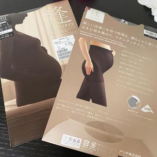 アツギ(Atsugi)の『新品』2セットATSUGI マタニティタイツ 80デニール(マタニティタイツ/レギンス)