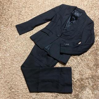 クードシャンス(COUP DE CHANCE)の値下げ交渉OK クードシャンス シングル パンツスーツ Mサイズ ストライプ(スーツ)