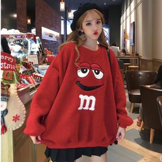 ◤フォロ割適用商品◢ピープス女子 M&M's WEGO◎イエローあります❤(トレーナー/スウェット)