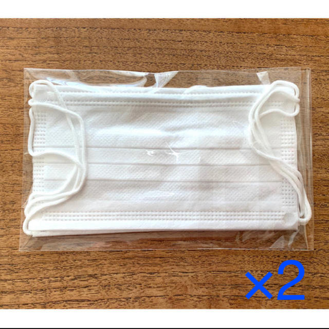 リーダー ス マスク - 〈新品未使用未開封〉医療用マスク(レギュラーサイズ)3枚×2の通販 by リエール