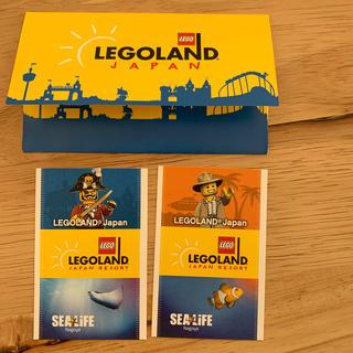 レゴ(Lego)のレゴランドジャパン 大人2名用1デイパスポート(遊園地/テーマパーク)
