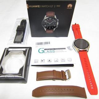 安心の保証付き ほぼ新品 HUAWEI WATCH GT 2 46mm(腕時計(デジタル))