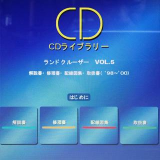 トヨタ(トヨタ)のランドクルーザー 40〜120系 オリジナルサービスマニュアル ランクル(カタログ/マニュアル)