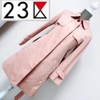 23区 - 新品未使用 23区 トレンチコート スプリングコート ピンク