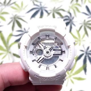 ベビージー(Baby-G)のCASIO Baby-G ba-110 ジーショック ホワイト(腕時計)